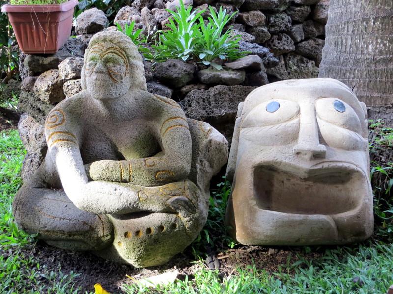 statue île de pâques