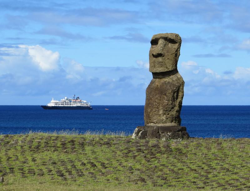 Île de pâques : les statues - le site de madeleine et pascal